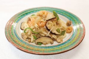 焼きビーフン風素麺
