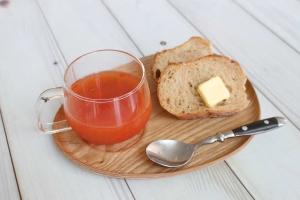 おろしトマトの冷製スープ